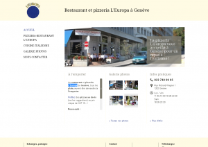 Restaurant et pizzeria L Europa à Genève