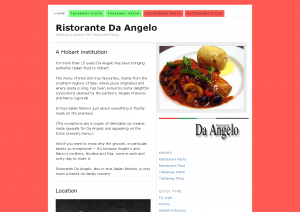 Ristorante Da Angelo — Sharing a passion for Pasta and Pizza